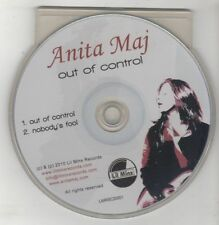 (GU344) Anita Maj, Out Of Control - 2010 DJ CD