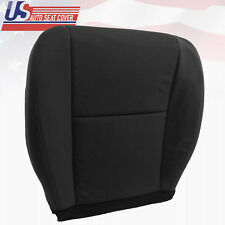 2010 - 2014 Chevy Silverado Driver Bottom Replacement Cloth Seat Cover Black