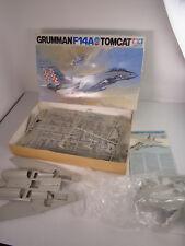 Vintage Tamiya Japan Grumman F-14A Tomcat 1/32 Plastic Model Kit 6301 AS IS