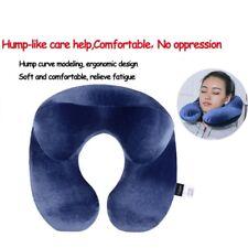 oreiller coussin gonflable voyage avion nuque neck pillow soutient support tête
