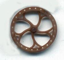 "16"" Brake Wheel G 1/2"" Scale Model Railroad Plastic Detail Part Gl3921"