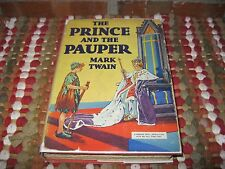 The Prince and the Pauper Mark Twain HC/DJ Grosset & Dunlap