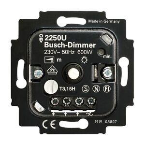 BUSCH JAEGER - Busch Dimmer 2250 U  - 60 - 600 W - Phasenanschnitt.( 22 )