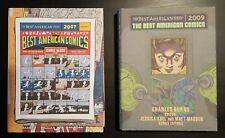 Lot - The Best American Comics 2007 et 2009 - Fanzine - Burns Chris Ware Madden