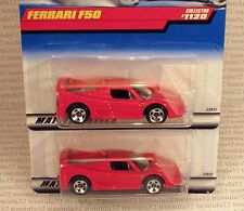 SPIDER BASE VARIATION LOT FERRARI F50 RED SPORTS CAR 1999 #1120 HOT WHEELS RARE
