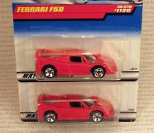 SPIDER BASE VARIATION LOT FERRARI F50 RED SPORTS CAR 1999 #1120 HOT WHEELS RARE