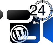 Wordpress Fast Track- Mastering Wordpress in under 60 minutes-24 Videos on 1 CD