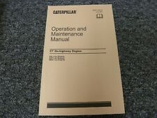 Caterpillar Cat C7 On-Highway Engine Owner Operator Maintenance Manual Book