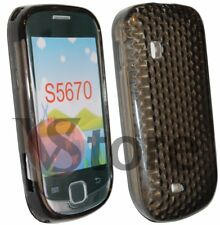 Cover Custodia Gel TPU Nero Per SAMSUNG S5360 GALAXY Y + Pellicola Salva Display