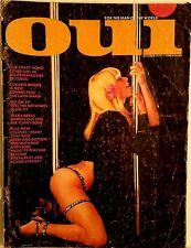 OUI Vintage Mens Interest Magazine Oct 1974 - Sex On Television