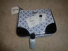 Philosophy bag with living grace shower gel and purity travel sizes NEW
