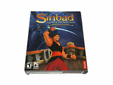 SINBAD LEGEND OF THE SEVEN SEAS new factory sealed big box PC game