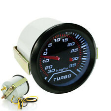 52mm LED Car Turbo Boost Gauge In.Hg -30-0, 0-35 Psi 12V Vacuum Pressure Monitor