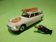 CORGI TOYS 475 CITROEN DS BREAK SAFARI- 1964 OLYMPICS - RARE SELTEN - GOOD COND