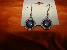 DOCTOR WHO TARDIS SILVER PLATED  EARRINGS NEW LAST ONE LEFT