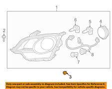 GM OEM Headlight Head Light Lamp-Headlamp Assembly Bushing 94530630