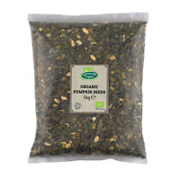 Organic Pumpkin Seeds 1kg Certified Organic