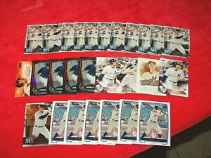 GREG BIRD NEW YORK YANKEES RC ROOKIE LOT OF 27 CARDS (18-14)