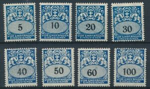 [59249] Germany Danzig Due 1923 good set MH Very Fine stamps $60