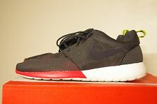 cfcb7ae1f588b Nike Roshe Run Size 10.5 Anthracite Charcoal Venom Green Red WITH BOX