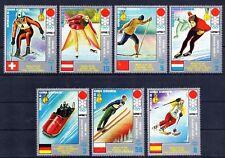 Republica de Guinea Ecuatorial  año 1972 deportes de invierno  sellos nuevos