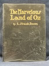THE MARVELOUS LAND OF OZ  L. FRANK BAUM Easton Press Leather HC Sealed Gold