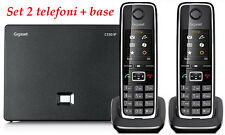 Siemens Gigaset C530IP + C530HX, 2 Phones VoIP, DECT, PSTN, IP