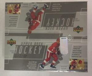 2000-01 Upper Deck Series 1  Retail Hockey Box Factory Sealed 24 Pack