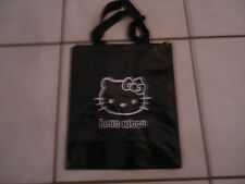 SAC SHOPPING HELLO KITTY - NOIR - dimensions 44 * 24,5 cm