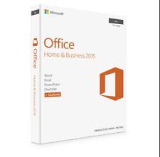 Genuine Microsoft Office 2016 For Mac Home & Business