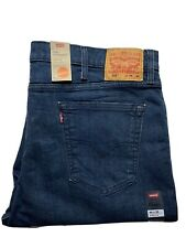 Levi Strauss 516 Mens Jeans Size 44 x 30 Straight Leg Moon Blue BNWT
