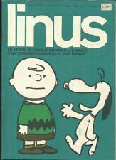 LINUS Anno 1 n° 2 (Figure sas, 1965) Rivista Fumetti