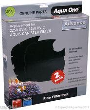 Aqua One- 35 Micron Fine Filter Pad 406s (25406s) (For Aquis 2250/2450 UV-C)
