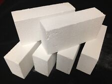 "K-26 Insulating Firebrick 9x4.5x 1.5"" IFB Fire Brick Thermal Ceramics Bricks K26"