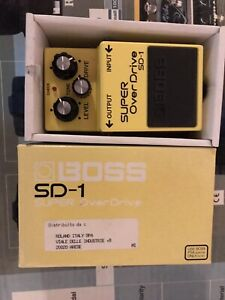 Boss sd1 pedale Overdrive