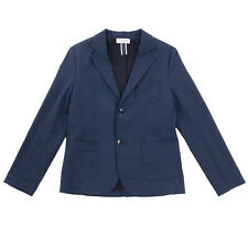 RRP €155 PAOLO PECORA Blazer Jacket Size 12Y Unlined Notch Lapel Made in Italy