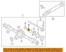 NISSAN OEM 05-17 Frontier Axle Differential-Rear-Spacer 43070EB00A