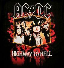 AC/DC cd cvr JUMBO HIGHWAY TO HELL Official Black SHIRT LRG new