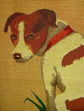 Jack Russell Terrier Belgian Tapestry Pillow Cover
