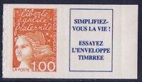 "FRANCE STAMP TIMBRE N° 3101a "" MARIANNE 1F ORANGE PAR 10 EXEMPLAIRES "" NEUFS xx"