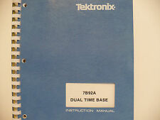 Tektronix 7B92A Dual Time Base