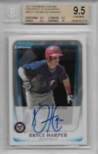 2011 Bryce Harper Bowman Chrome Auto RC... BGS 9.5 w/all 9.5 & 10 subs + 10 auto