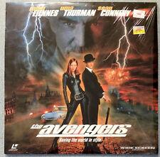 THE AVENGERS Laserdisc widescreen Ralph Fiennes Uma Thurman Sean Connery