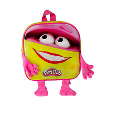 PLAY-DOH Girl's Doh Doh Backpack with 12 Creative Accessories Pink/Yellow