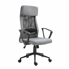 Breathable Office Chair Height Adjustable Swivel Chair With Tilt Function Pu