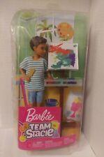Barbie Team Stacie - Friend Of Stacie Art Class Playset Doll Artist Accessories