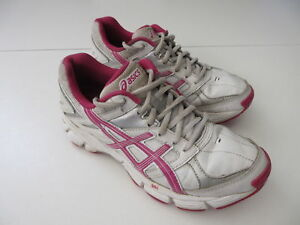 Women's ASICS 'Gel 190 TR' Sz 7 US Runners White Pink VGCon | 3+ Extra 10% Off