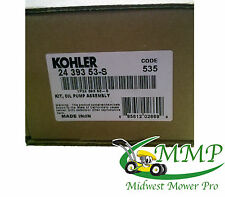 New OEM Kohler Oil Pump Kit CH18 CH23 CH620  24 393 53-S