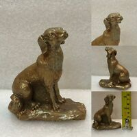 Vintage Chinese Brass Dog  Figurine