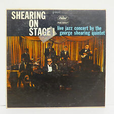 George Shearing Quintet: Shearing On Stage - Capitol Records T1187 High Fidelity